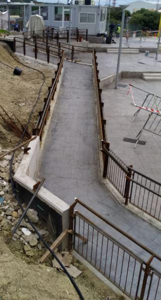 Cerrajería - Barandillas acero al carbono y posterior galvanizado por inmersión