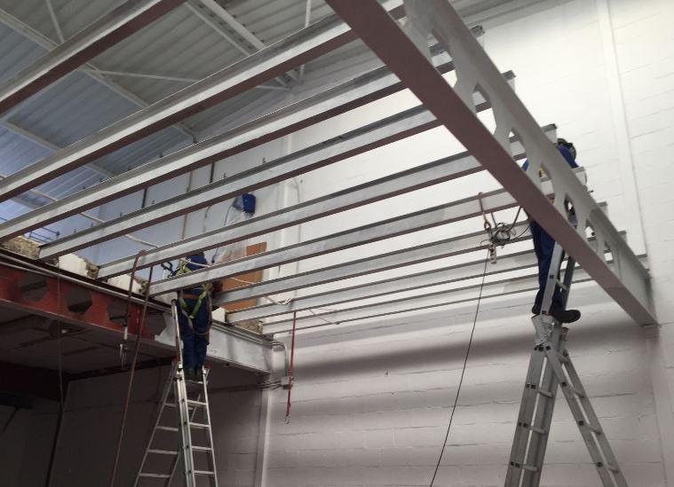Estructura metálica fabricación e instalación