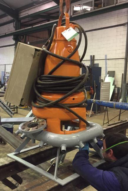 Fabricación anillo propulsor de chorro