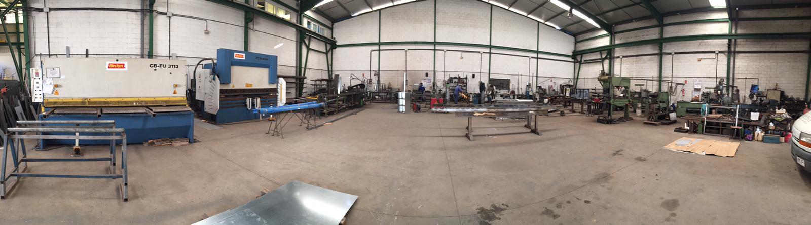Instalaciones taller metalico