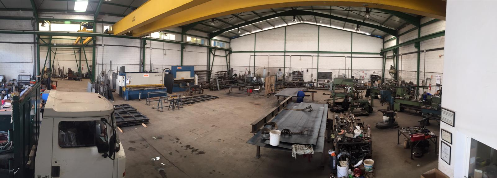 Instalaciones taller cerrajería soldadura
