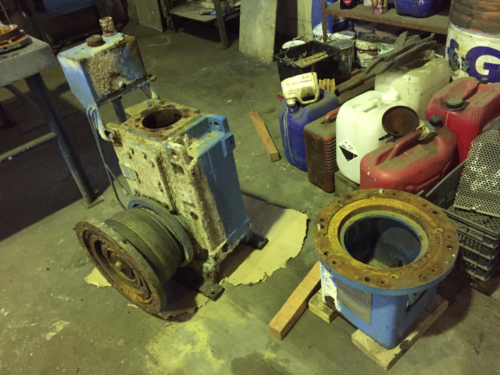 Reparación reductores y bombas