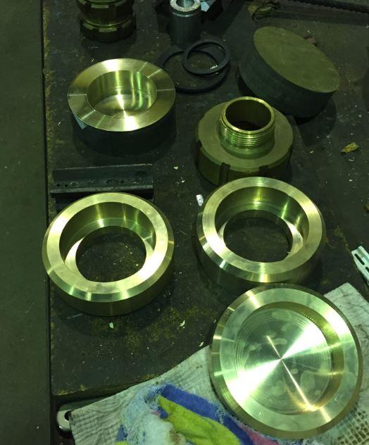 Mecanizado piezas de bronce, inoxidable, aluminio